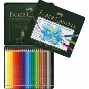 Set creioane colorate Acuarela Albrecht Durer 24 culori/set Faber-Castell