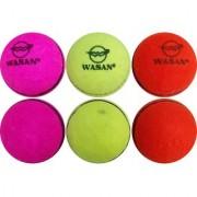 Wasan Tennis Cricket Ball -( Pack of 6 )