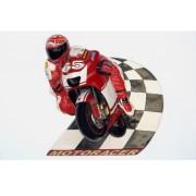 2581 Motorracer Speedway Wall Decor - Motor