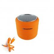 Boxa portabila Blaupunkt BT01OR, Bluetooth, FM radio, microSD, portocaliu