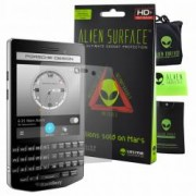 Folie Alien Surface HD BlackBerry Porsche Design P9983 protectie ecran + Alien Fiber cadou