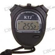 Deporte Cronometro con Time / Reloj / Fecha / Calendario (1 * AG13) - Negro