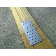 Placa perforada 200x120mm