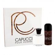 Roberto Capucci Capucci Pour Homme confezione regalo dopobarba 100 ml + deodorante 150 ml uomo