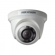 Camera dome Turbo HD / Analogica Hikvision DS-2CE56C0T-IRPF 1MP, IR 20m, 2.8mm, IP66 + Discount la kit (Hikvision)
