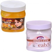 PINK ROOT GOLD GEL 500GM WITH VITAMIN E CREAM 500GM