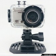 Mini camera sport rezistenta la apa, Full HD 1080P, 30CPS, 5.0 MP, Wi-Fi
