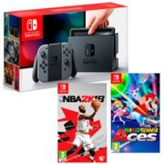 Consola Nintendo Switch & Mario Tennis Aces & NBA 2K18