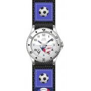 Náramkové chlapecké modré hodinky JVD basic J7071.1