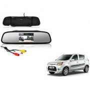 4.3 Inch Rear View TFT LCD Monitor Mirror Screen Display For Reverse Parking and Rear View For Maruti Suzuki Alto 800