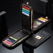 CASEME notesz tok Apple iPhone X telefonhoz - FEKETE