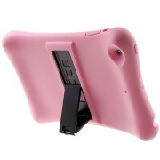 iPad Mini 3 Kickstand Siliconen Hoesje - Roze
