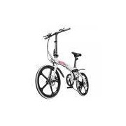 Bicicleta Dobrável two dogs Pliage Alloy Alumino Branca