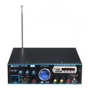Amplificator audio profesional cu Bluetooth MP3 Player si Radio FM TeLi BT-266