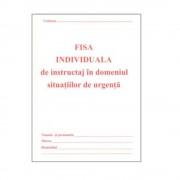 Fisa Instruire Individuala pentru Protectia Muncii A5, 8 File/Carnet - Formular P.S.I