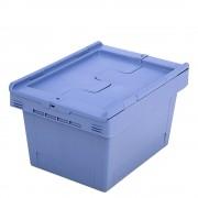 Mehrweg-Stapelbehälter mit Klappdeckel Inhalt 18 Liter ab 10 Stück