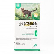 Profender Spot-on for Small Cats under 2.5kg (5.5lbs), Single Tube Pack