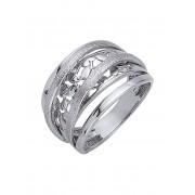 AMY VERMONT Damenring diamantiert, silber
