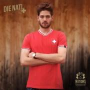 The Nations Collection Vintage Fussball Trikot Herren Schweiz XL