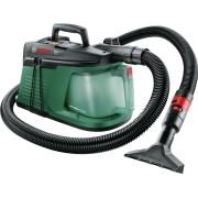 Aspirator Bosch EasyVac 3 06033D1000, 700 W, 2.1 L, Aspirare uscata, Duză pentru rosturi, Negru/Verde