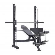 Press banca olímpica 320 kg + banco regulable - squat sentadillas