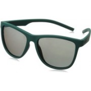Polaroid Retro Square Sunglasses(Green)