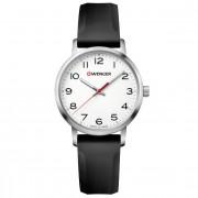 Wenger Avenue Reloj de cuarzo acero inoxidable white-black-black