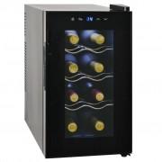 vidaXL veini külmkapp 25 l, 8 pudelit, LCD ekraan
