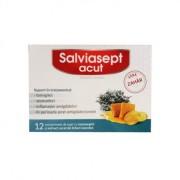 ZDROVIT SALVIASEPT ACUT 12 comprimate de supt fara zahar
