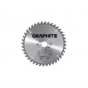 Lama circulara pentru fierastrau 165x30 mm, 18 dinti GRAPHITE 57H648