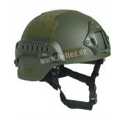 Hełm US ARMY replika M.I.C.H. 2000 W/RAIL OLIV