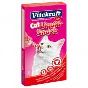 Vitakraft -5% Rabat dla nowych klientówVitakraft Cat Liquid Snack pasta z wołowiną i inuliną - 24 x 15 g Darmowa Dostawa od 89 zł i Promocje urodzinowe!