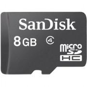 J.P.W Sandisk 8GB Class 4 MicroSDHC Memory Card