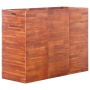 vidaXL Jardinieră de grădină, lemn de acacia, 150 x 50 x 100 cm