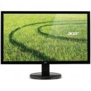 Монитор Acer K202HQLAb, 19,5' Wide TN LED, 5 ms, 100M:1 DCR, 200 cd/m2, 1366x768, VGA, Черен - UM.IX3EE.A01