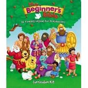 The Beginner's Bible Curriculum Kit: 30 Timeless Lessons for Preschoolers, Paperback/Zondervan