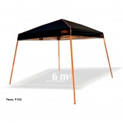 Carpa Toldo Plegable 3x3m Lona Impermeable Ecology