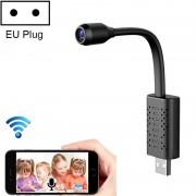 V380-U8 kleine draadloze WiFi HD IP-camera zonder geheugenkaart ondersteuning mobiele telefoon bewaking op afstand & bewegingsdetectie/alarm EU-stekker