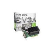 Placa de Vídeo VGA EVGA NVIDIA GeForce GT 730 2GB DDR3 64 bits PCI-E 2.0 02G-P3-1733-KR