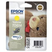 Epson T0614 Original Ink Cartridge C13T06144010 Yellow