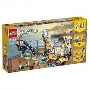 Lego Piraten-Achterbahn
