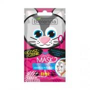 Bielenda Mască de curățare 3D Crazy Mask ( Clean sing 3D Sheet Mask Cat) 1 buc
