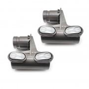 2PCS D924 Holder Bracket Head for Dyson DC58 DC59 DC62 V6 DC35 DC45 Vacuum Cleaner Brushes Parts Accessories