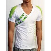 Doreanse Мужская белая спортивная футболка с зеленым принтом Doreanse Mexican Style 2575c27