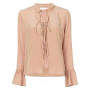 Chloé блузка с завязкой спереди See By Chloé