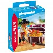 Playmobil Special Plus - Pirata Con Cofre Del Tesoro - 9358