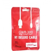 UBON DATA CABLE GWR-380 PURE COPER CABLE HT DELUXE CABLE