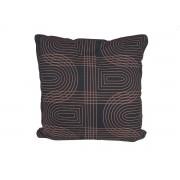 Pt Sierkussen Retro Grid vierkant - Black
