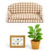 Sylvanian Families Living Room Sofa Over -518 (Japan Import)