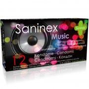 Saninex music preservativos aromáticos 12 uds